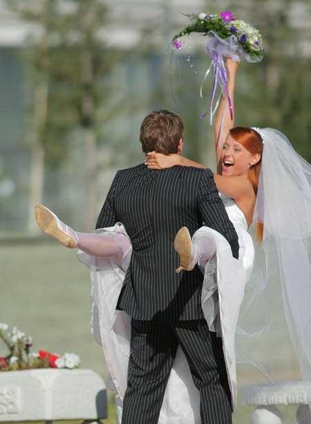 عكس جالب از سواری مدل جدید عروس